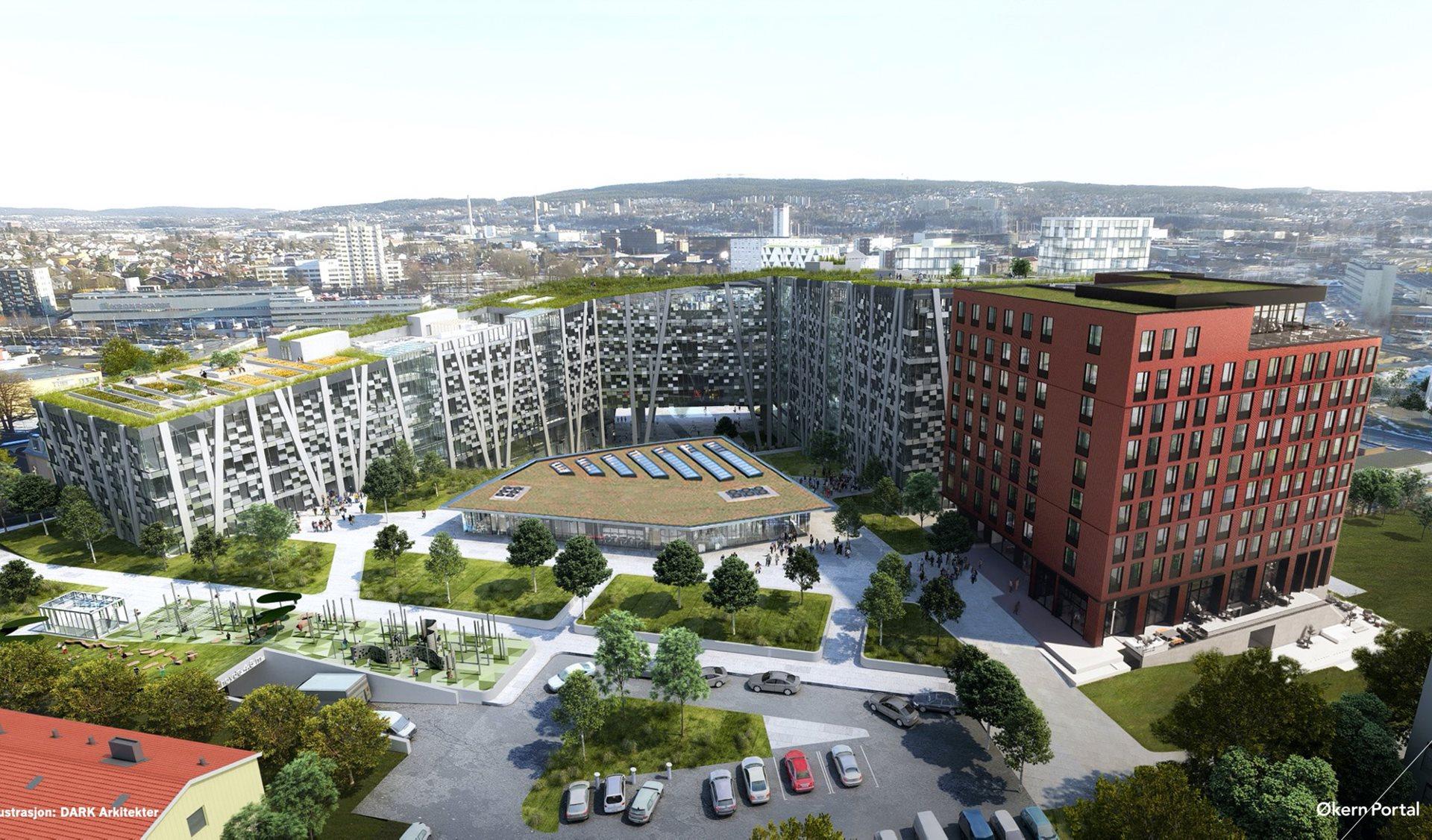 Project   Økern Portal